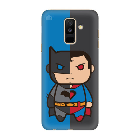 Cute Superheroes Annoyed Samsung Galaxy J8 Cover