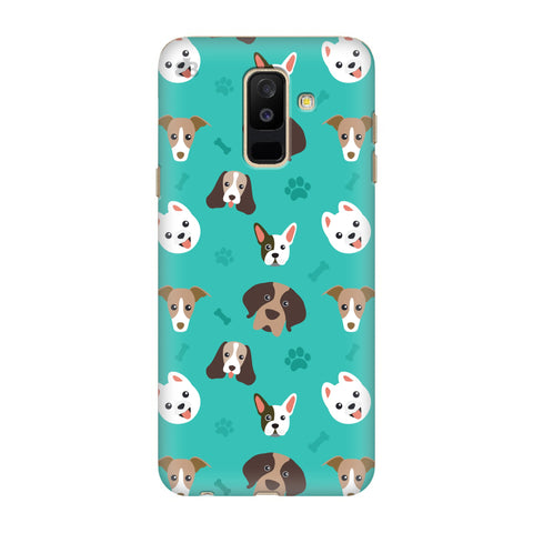 Doggie Pattern Samsung Galaxy J8 Cover