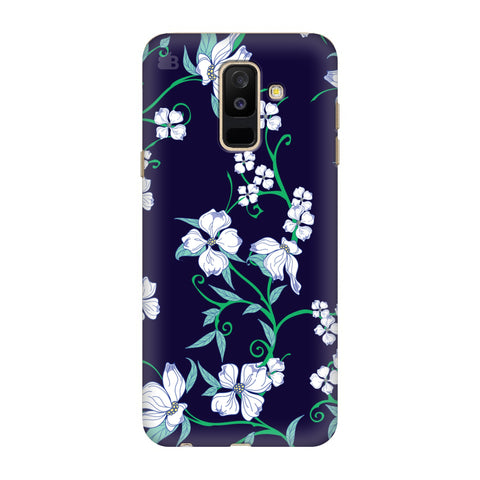 Dogwood Floral Pattern Samsung Galaxy J8 Cover