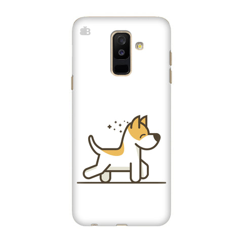 Happy Puppy Samsung Galaxy J8 Cover