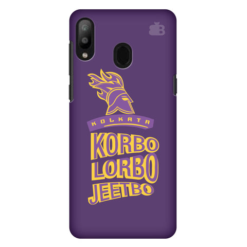 Kolkata Knight Samsung Galaxy M10 Cover