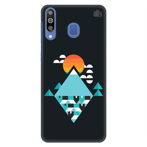 Abstract Mountains Samsung Galaxy M30 Cover