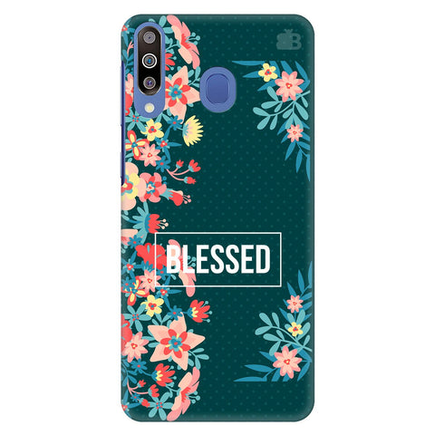 Blessed Floral Samsung Galaxy M30 Cover