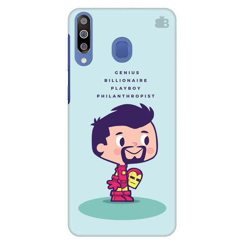 Clever Superhero Samsung Galaxy M30 Cover