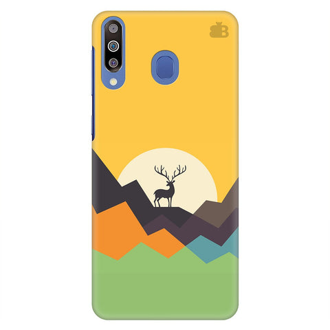 Deer in Mountains Samsung Galaxy M30 Cover