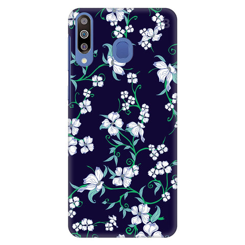 Dogwood Floral Pattern Samsung Galaxy M30 Cover