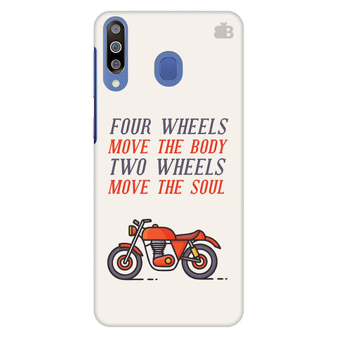 Motorcyclist Samsung Galaxy M30 Cover