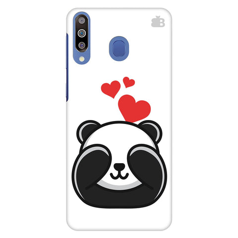 Panda In Love Samsung Galaxy M30 Cover