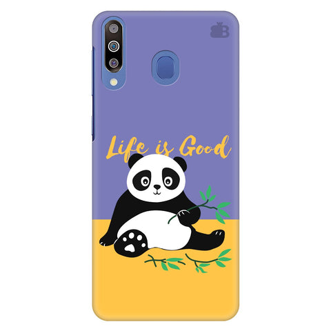 Panda Life is Good Samsung Galaxy M30 Cover