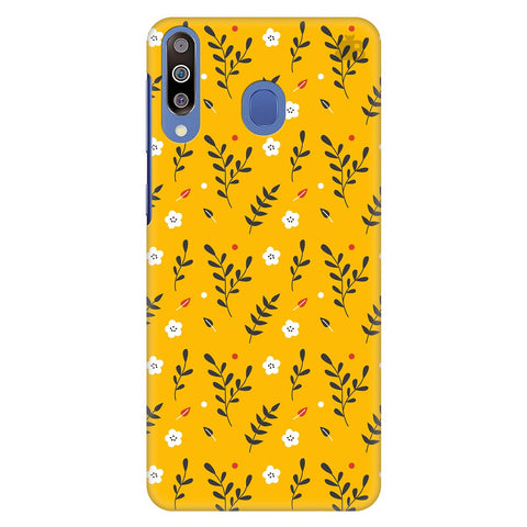 Summer Floral Pattern Samsung Galaxy M30 Cover