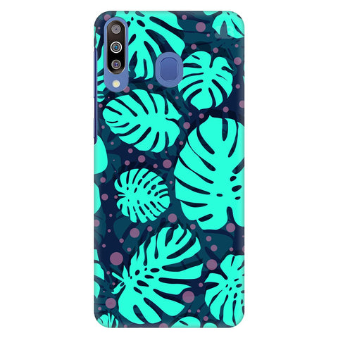 Tropical Leaves Pattern Samsung Galaxy M30 Cover