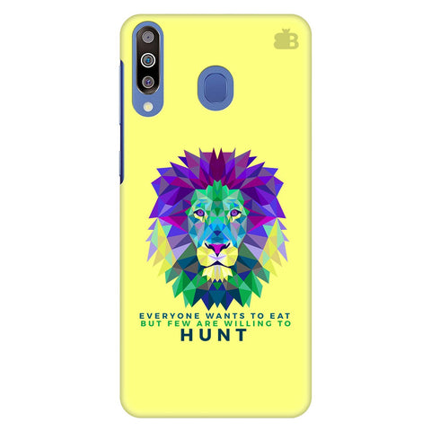 Willing to Hunt Samsung Galaxy M30 Cover