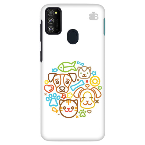 Cute Pets Samsung Galaxy M30S Cover