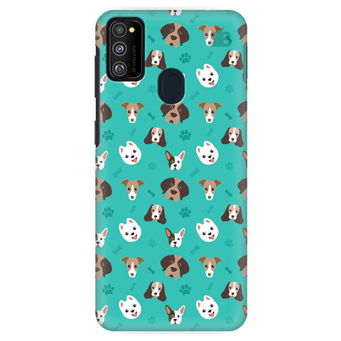 Doggie Pattern Samsung Galaxy M30S Cover