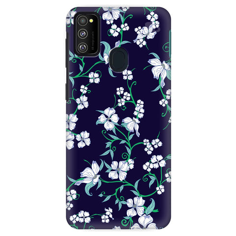 Dogwood Floral Pattern Samsung Galaxy M30S Cover