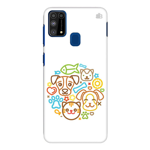 Cute Pets Samsung Galaxy M31 Cover