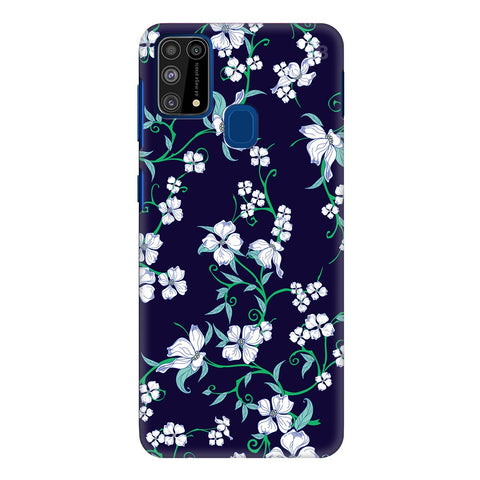 Dogwood Floral Pattern Samsung Galaxy M31 Cover