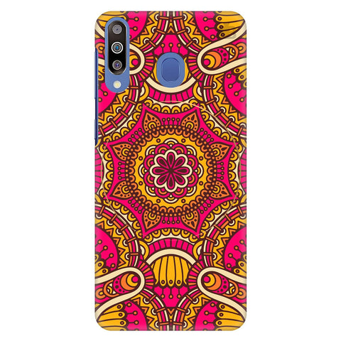 Colorful Ethnic Art Samsung Galaxy M40 Cover