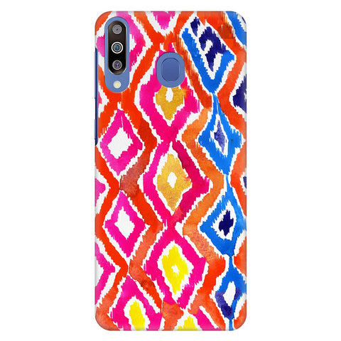 Colorful Ikat Samsung Galaxy M40 Cover