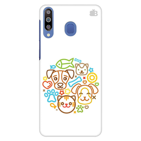 Cute Pets Samsung Galaxy M40 Cover