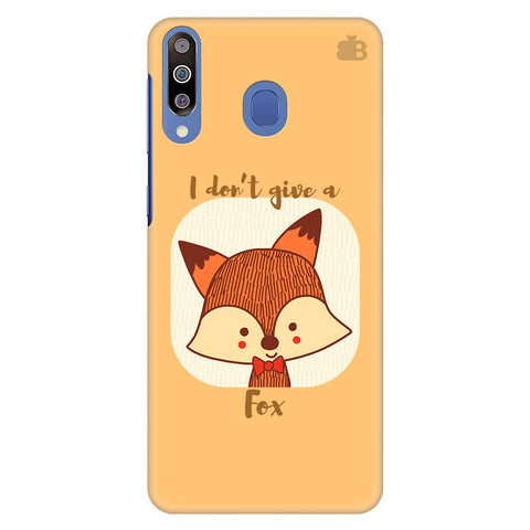 Dont Give A Fox Samsung Galaxy M40 Cover