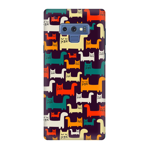 Chill Cats Samsung Galaxy Note 9 Cover