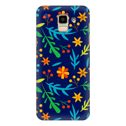 Vibrant Floral Pattern Samsung Galaxy On 6 Cover