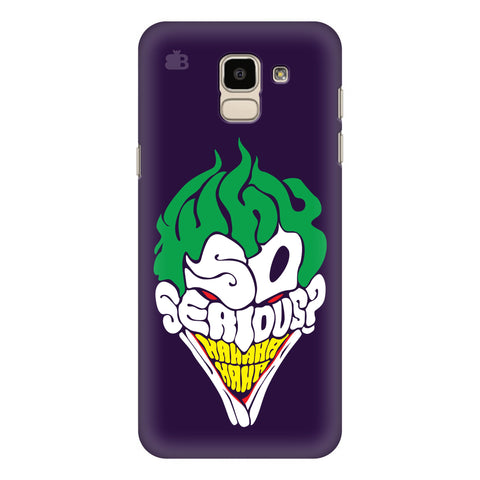 Why So Serious Samsung Galaxy On 6 Cover
