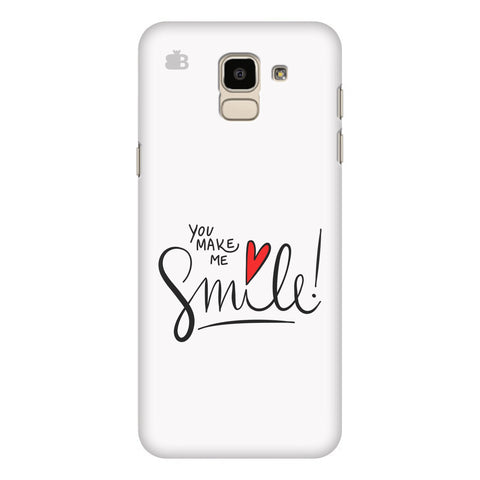 You make me Smile Samsung Galaxy On 6 Cover
