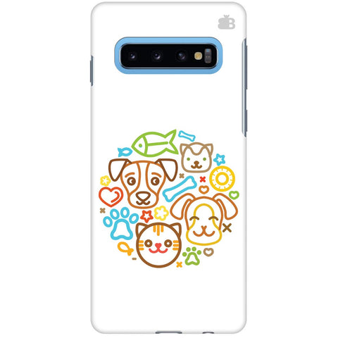 Cute Pets Samsung S10 Cover