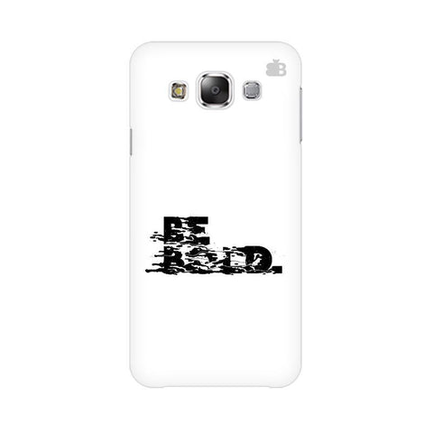 Be Bold Samsung Grand 3 G7200 Cover