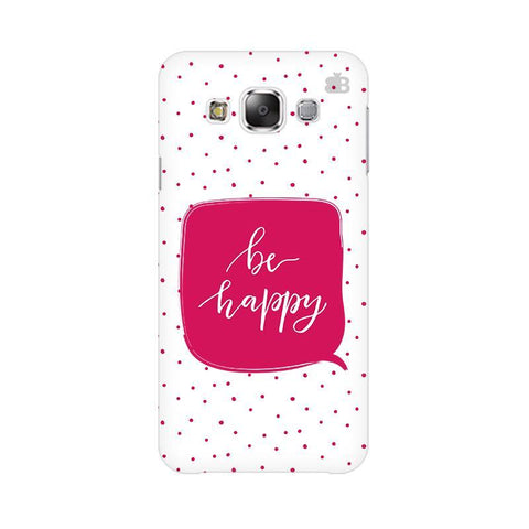 Be Happy Samsung Grand 3 G7200 Cover