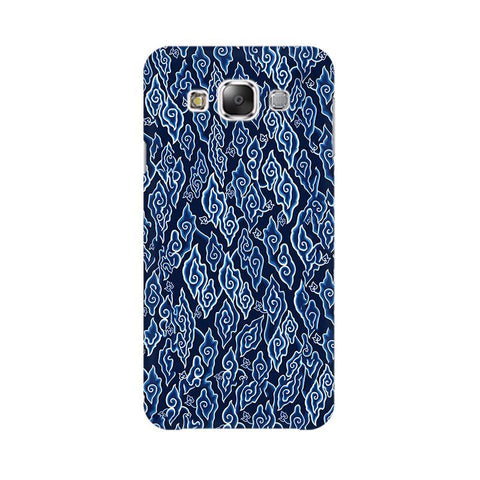 Blue Batic Art Samsung Grand 3 G7200 Cover