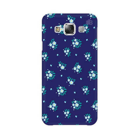 Blue Floral Pattern Samsung Grand 3 G7200 Cover