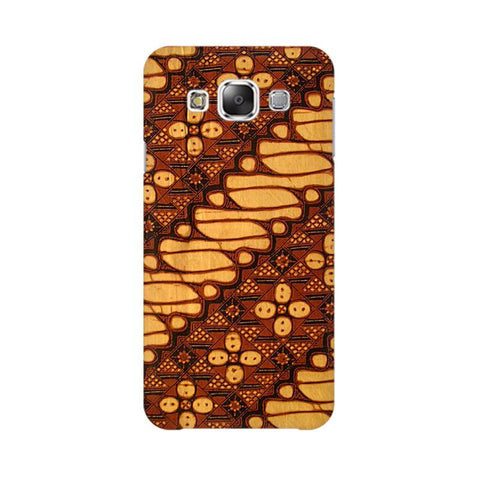 Brown Batik Samsung Grand 3 G7200 Cover