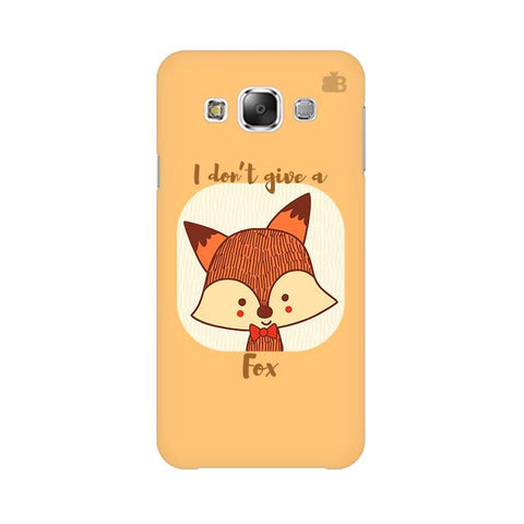 Dont give a Fox Samsung Grand 3 G7200 Cover