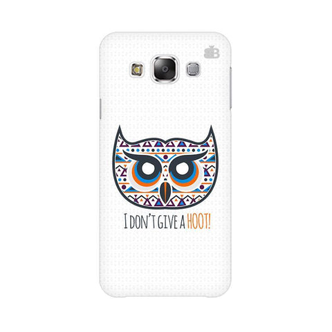 Dont give a Hoot Samsung Grand 3 G7200 Cover