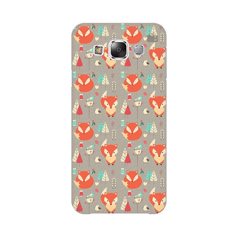 Foxy Pattern Samsung Grand 3 G7200 Cover