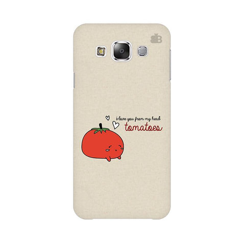 From head tomatoes Samsung Grand 3 G7200 Cover