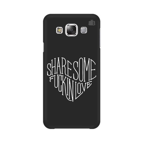 Share Some F'ing Love Samsung Grand 3 G7200 Cover