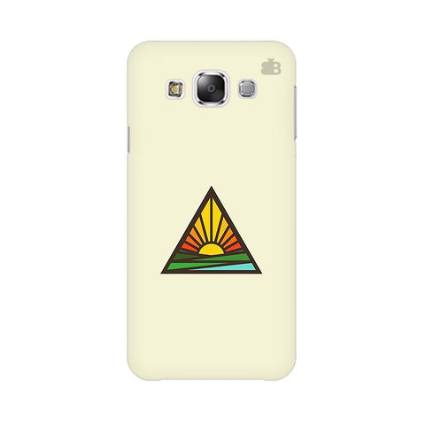 Triangular Sun Samsung Grand 3 G7200 Cover
