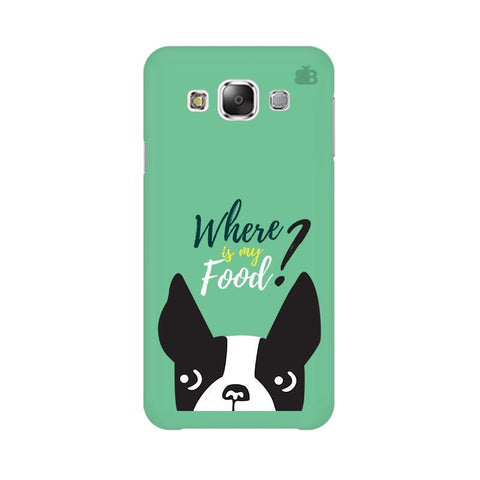 Where is my Food Samsung Grand 3 G7200 Cover