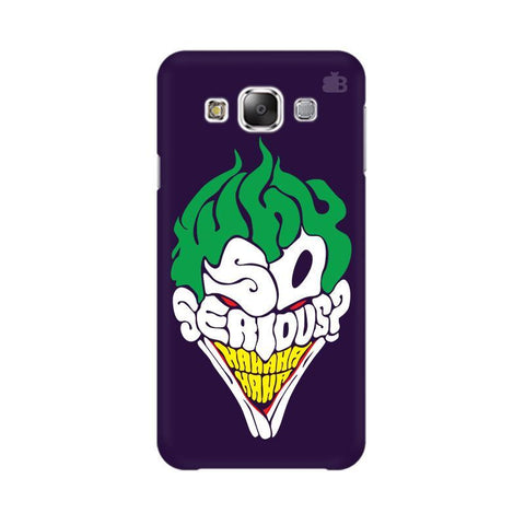 Why So Serious Samsung Grand 3 G7200 Cover