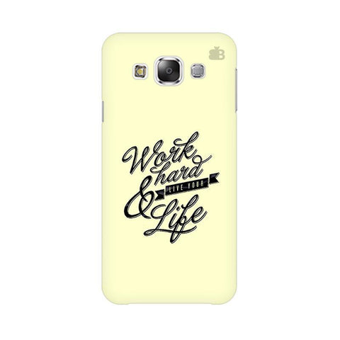 Work Hard Samsung Grand 3 G7200 Cover