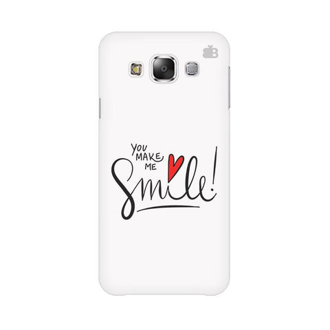 You make me Smile Samsung Grand 3 G7200 Cover