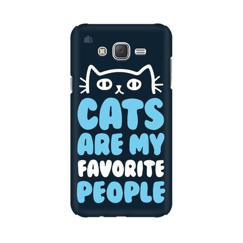 Cats favorite People Samsung J1 Phone Cover