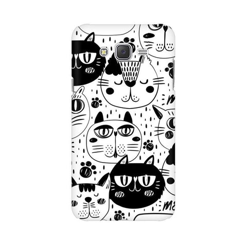Cute Cats Pattern Samsung J1 Phone Cover