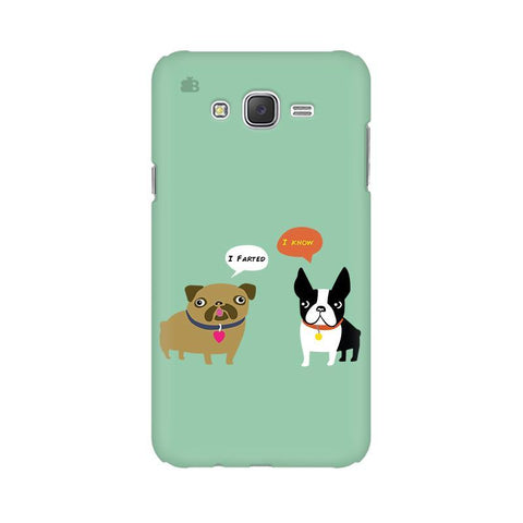 Cute Dog Buddies Samsung J1 Phone Cover