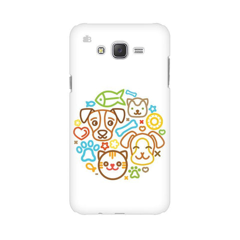 Cute Pets Samsung J1 Phone Cover