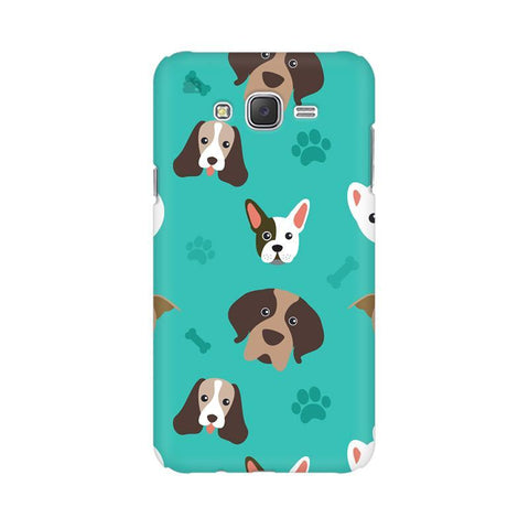 Doggie Pattern Samsung J1 Phone Cover